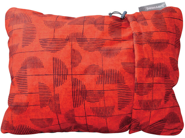 Therm-a-Rest Compressible Coussin Taille M, red print